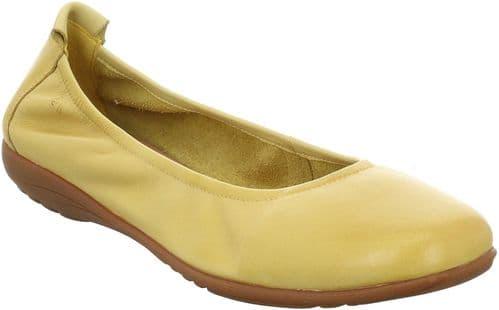 Josef Seibel Fenja 01 Slip On Ladies Shoes Gelb